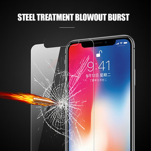Image 2 - 3Pcs HD Tempered Glass For iPhone 6 6s 7 8 Plus X XS MAX Screen Protector Film For iPhone 11 Pro Max XR 11pro Protection Glass