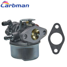 Carbman Carburetor for Tecumseh 640017B 640117 640117B 640104 Fits OHH45 OHH50 5hp OHV Lawn Mower Part