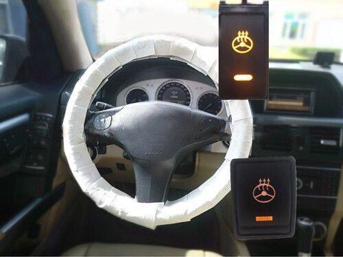 Auto lenkrad abdeckung heizung original Innen lenkung warm beheizt Zubehör für Toyota Nissan Honda Abdeckungen