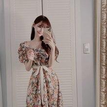 s-xl Plus Size New Summer Dress Girls Boho Party Chiffon Fem