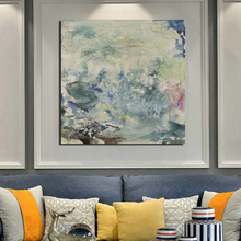 Zao Wou Ki Canvas Painting Prints Living Room Home Decoration Artwork Modern Wall Art Oil Painting Posters Pictures Accessories