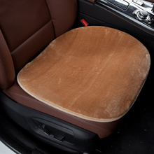 Mat Car-Seat-Cover Office Cushion-Pad Seat-Protector Universal Plush Auto Winter