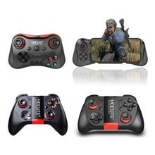 Mocute controlador gamepad android sem fio pugb joystick joypad bluetooth jogo almofada alça para o telefone inteligente tablet pc caixa de tv inteligente