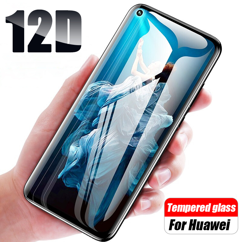 12D Full Cover Tempered Glass On For Honor 20 Pro Safety Glass For Huawei Honor 20lite 20s 20light Screen Protector Honor20 Film
