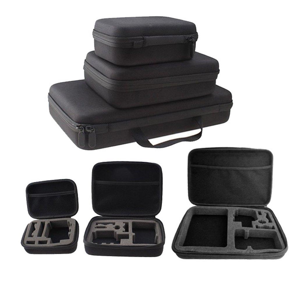 Portable Carry Case Hard Bag Sports Camera Accessory Anti-shock Storage Bag For Go Pro Hero 3/4 SJCAM Action Camera