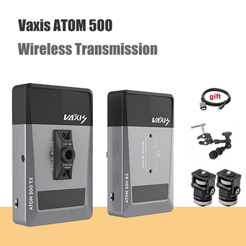 Vaxis ATOM 500 Wireless Transmitter Receiver 1080P HD Dual HDMI Image Video Wireless Transmission System photography Camera