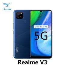 Realme – smartphone V3, téléphone mobile 5G, 6 go/8 go de RAM, 64 go/128 go de ROM, Octa Core 720, batterie 5000mAh, 18W, empreintes digitales