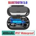 V11 TWS сенсорные bluetooth-наушники с отпечатком пальца  HD стерео беспроводные наушники  игровая гарнитура с шумоподавлением airpots
