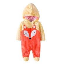 Зимние Детские пижамы милый комбинезон с героями мультфильмов, фланелевый костюм для игр с животными толстовка с длинными рукавами, теплая Милая забавная цельная Пижама