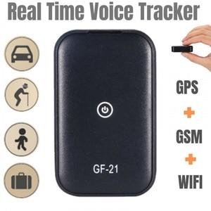 Image 3 - Gf21 mini gps em tempo real rastreador de carro anti perdido dispositivo de gravação de controle de voz localizador de microfone de alta definição wi fi + lbs + gps pos