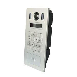 Image 2 - DH VTO6221E P PoE(802.3af) IP מתכת Apartmen פעמון, דלת טלפון, פעמון, IP וידאו אינטרקום, שיחת טלפון app,SIP הקושחה