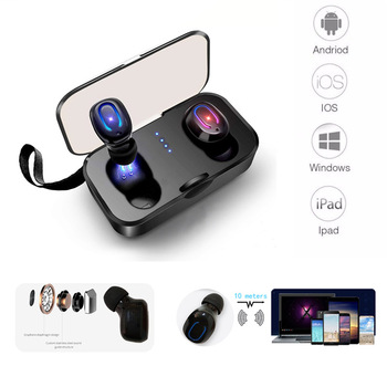 Bluetooth 5.0 Earphone With Charging Box for Xiaomi mi 5 5x 5s 6 6x 6a 6pro 8 se 9 se max 2 max 3 note 2 note 3