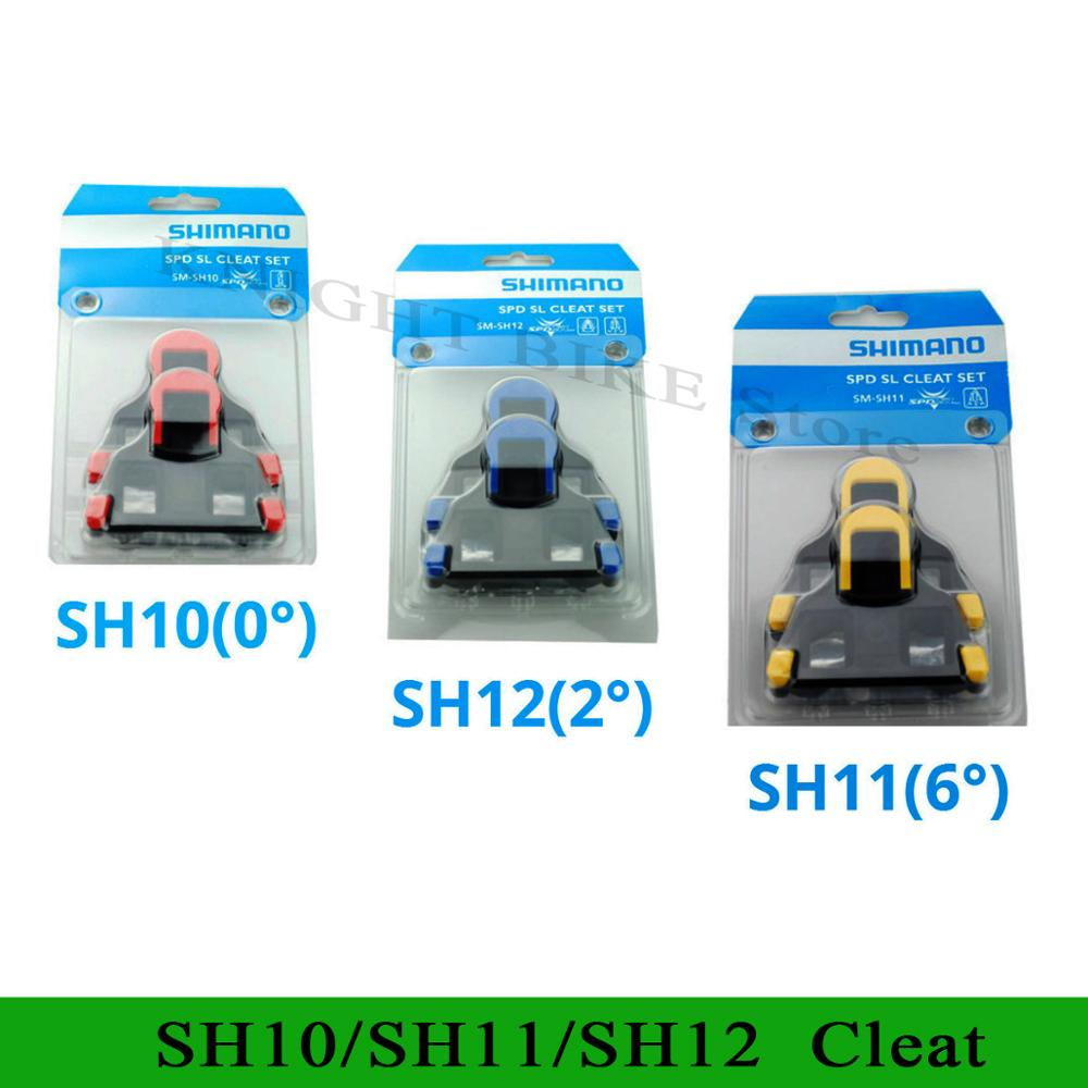 SH11 SPD SL Road bike Pedal Cleat bicycle Pedals plate clip SPD-SL SH10 SH11 SH12 cleats New original