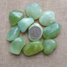 100g Natural stone original ornaments gravel jade large