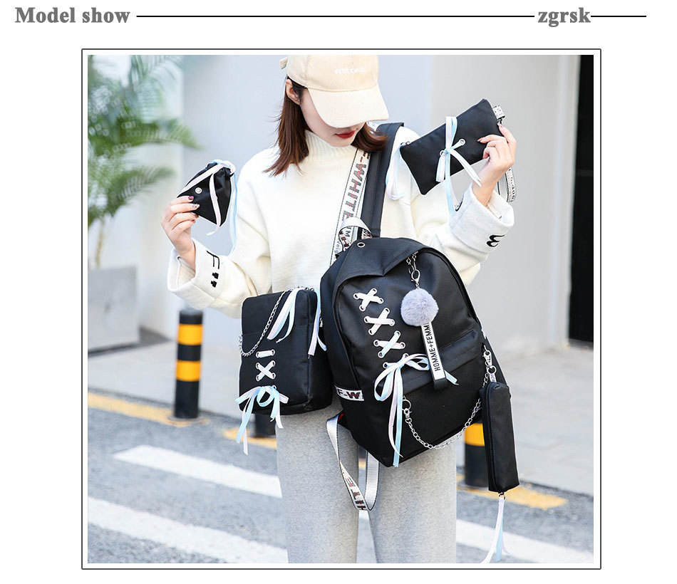 set mochila adolescente meninas mochilas bolsa de
