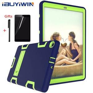 Image 1 - Pesante Custodia In Silicone per Samsung Galaxy Tab 10.1 SM T510/T515 S5e T720/T725 T590/T595 10.5 pollici Tablet Funda Capa Cover + Regali