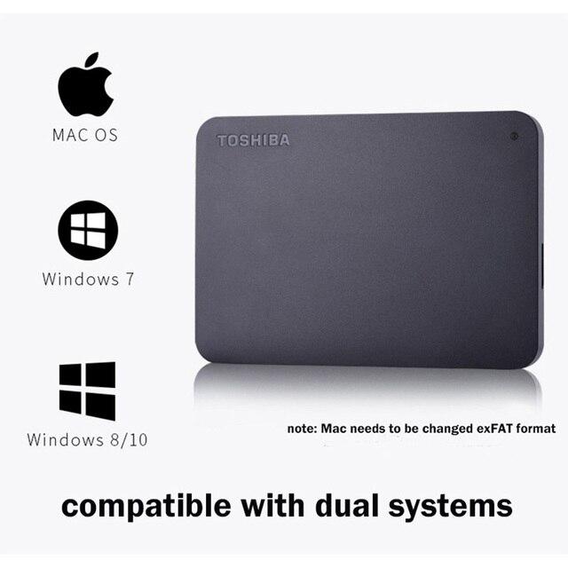 Внешний жесткий диск Toshiba, 2 ТБ, 4 ТБ, 500 ГБ, 320 ГБ, 250 ГБ, 2,5 ГБ 6