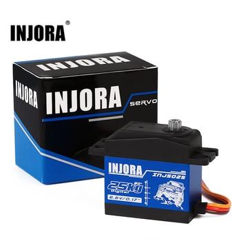 INJORA INJS025 RC Car 25KG 35KG Metal Gear Large Torque Digital Servo for RC Car Crawler SCX10 TRX4 RC Car Truck Robot Parts