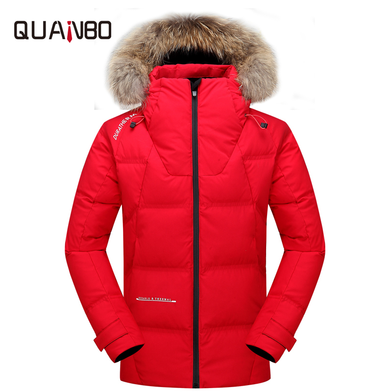 High Quality Men Winter   Coat   Thick Warm Fashion Outdoor Men's   Down   Jacket Multi-pocket Design Windproof Waterproof for Jackets