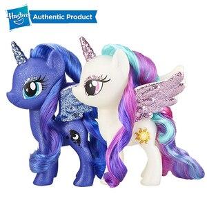 Игрушка принцессы, блестящая 6-дюймовая фигурка для детей в возрасте от 3 лет и старше, кукла для волос Hasbro My Little Pony