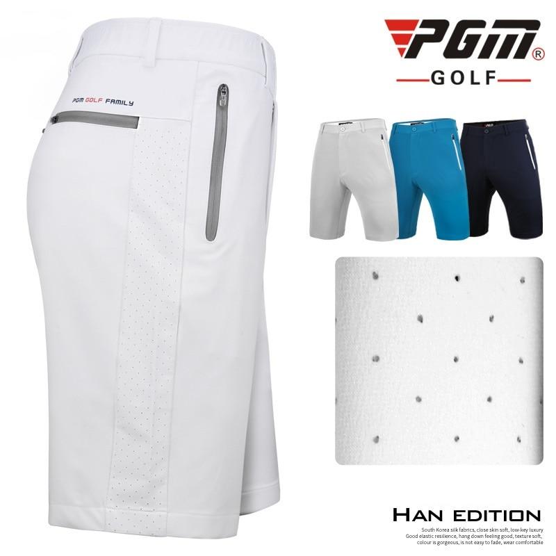 Pgm Golf Shorts Men'S Sports Shorts Breathable High Stretch Golf Shorts Man Comfortable Anti-Sweat Sports Short Pants