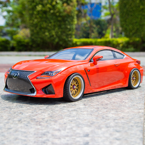 Killerbody 1:10 RC touring drift car lexus RCF body shell with 257mm wheelbase fit for timiya(China)