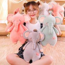 Новинка креативная удобная мягкая игрушка слон для малышей пододеяльник