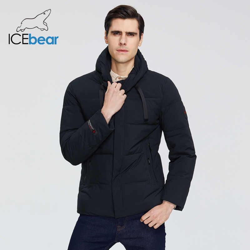 Beruang Es 2019 Baru Pria Pakaian Pria Kualitas Tinggi Hangat Musim Dingin Mantel Merek Jaket MWD19851I