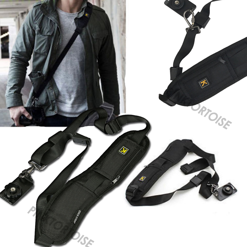 Portable Single Shoulder Sling Belt Strap for camera Quick Rapid Quick Adjustment for DSLR Digital SLR Camera image