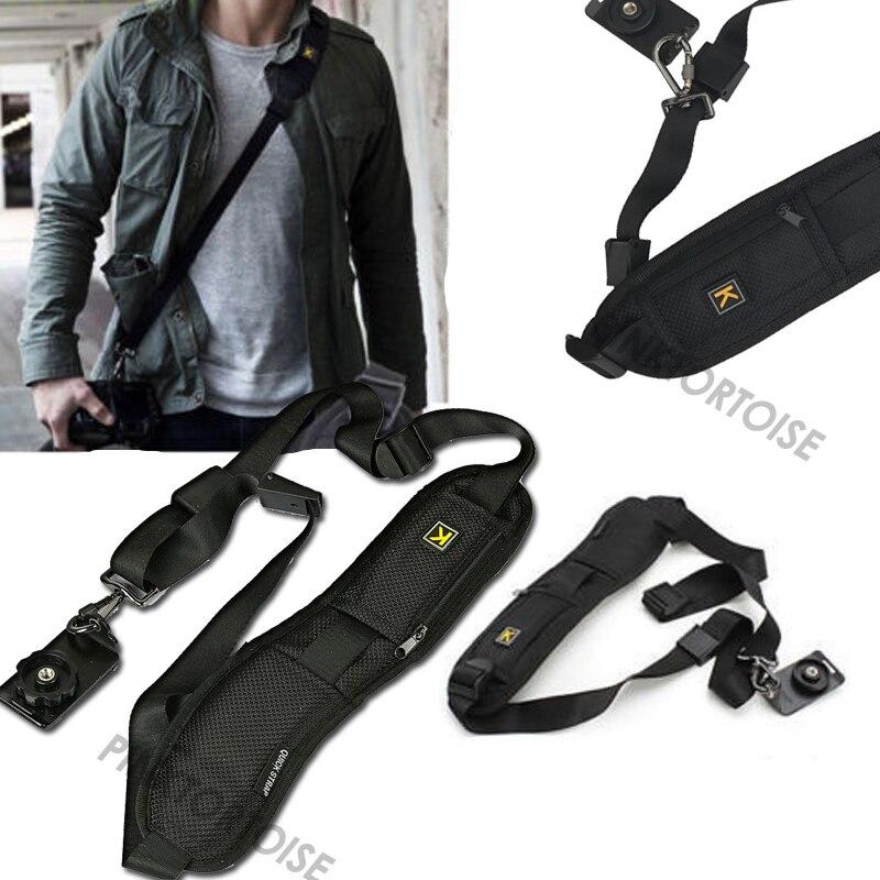 Sangle de ceinture d'épaule simple Portable pour appareil photo réglage rapide rapide rapide pour appareil photo reflex numérique DSLR