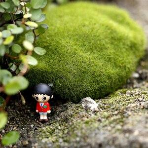 Image 4 - 시뮬레이션 이끼 거짓 녹색 돌 바위 이끼 공장 미니어처 사진 촬영 배경 장식품 사진 스튜디오 액세서리