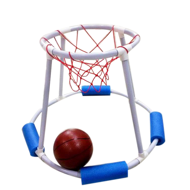 TOP!-Summer Water Pool Competition Toys Children'S Water Basketball Hoop Swimming Basketball Floating Basketball Game Swimming