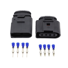 5sets (Male + female) DJ7045A-3.5-11/21  4P Plug ignition coil module plugs Volkswagen Accessories