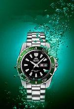 2021 orient-relógio para homem 50m à prova dwaterproof água de luxo marca relógio automático 44mm movimento 46943 relógio masculino safira relógio de cristal