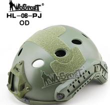 WoSporT Military Tactical Helmet Hot Solid Freezing Air Free War Game Cs Airsoft Paintball Head Caucasian Green
