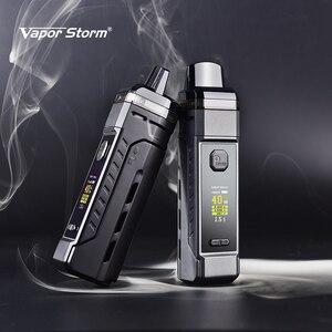 Image 2 - Vapor Storm PM Pod Mod batteria esterna 18650 0.3 0.6ohm 2 bobine 4.8ml Pod System Vape vaporizzatore sigaretta elettronica VS VINCI X