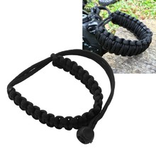 NEW-Digital Camera Wrist Hand Strap Grip Braided Wristband Band for DSLR Cameras Binoculars Stuff Outdoor Sport Accessories Tool(China)