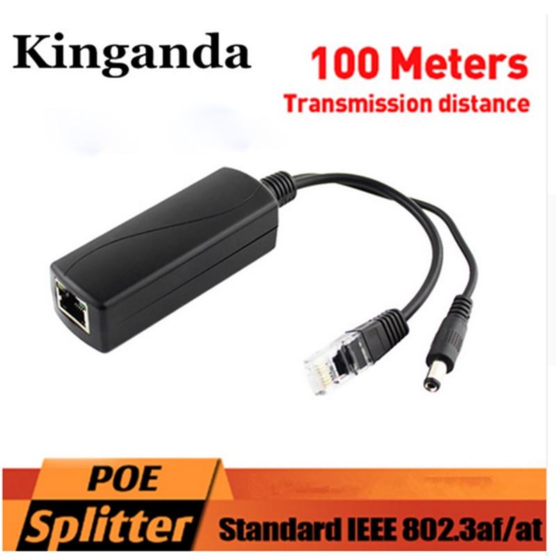 New Active PoE Splitter Power Over Ethernet 48V To 12V 2A IEEE802.3af Standard Charm Synthesizer Separator Combiner