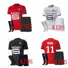 Maillot de foot, kit, Rennes, 20, 2, 1, fc, maillot de pied, Niang bouigeaud Terrier, 2021