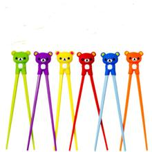 Мультфильм Стиль Дети обучения учебные палочки для еды для раннего образования начинающих тренировочные столовые приборы LX8186