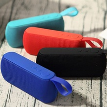 цена на Portable Bluetooth Speaker Outdoor Wireless Subwoofer With Mic TF Card USB Disk MP3 Player AUX For PC Phone Xiaomi Iphone