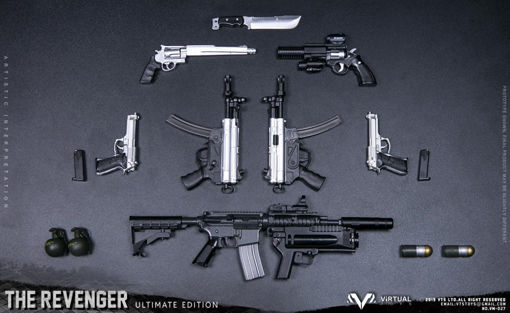 Image 5 - VTS TOYS VM 027 THE REVENGER ULTIMATE EDITION 1/6 Action FigureAction & Toy Figures   -