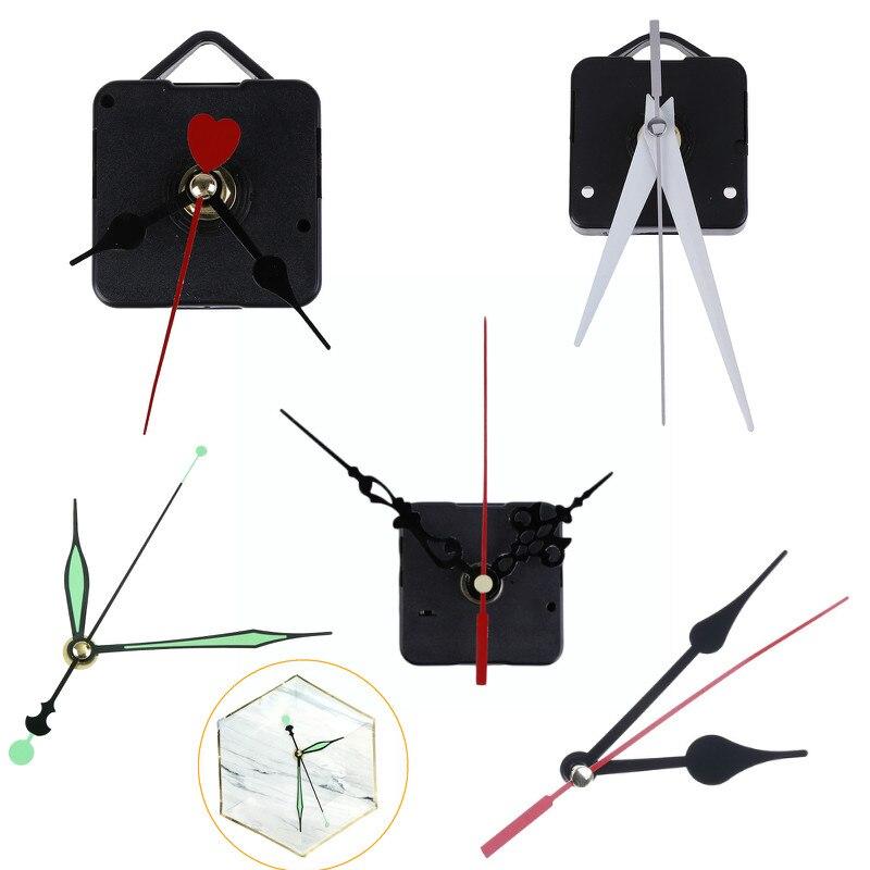 DIY Clock Mechanism Parts Classic Hanging Black Quartz Watch Wall Clock Movement Quartz Wall Clock Movement
