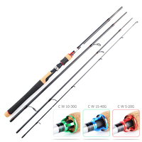 Spinning Fishing Rod H XH Ultralight 4 Sections 2.4M 2.7M 2.1M Lure Fishing Rods 5 20G 10 30G 15 40G Fishing Pole Carbon Rod