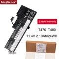 KingSener ноутбука Батарея для lenovo ThinkPad T470 T480 A475 A285 серии 01AV419 01AV420 01AV421 01AV489 SB10K97576 SB10K97578