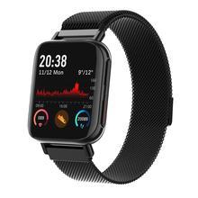 M96 Bluetooth çağrı çocuk akıllı izle IWO 12 260MAH güçlü pil erkek kadın kalp hızı monitörü için spor Smartwatch xiaomi telefonları