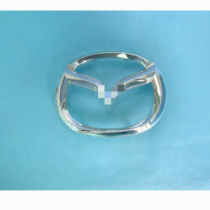 Image 5 - Araba aksesuarları KD5H 50 721 vücut parçaları ön tampon grille sembol logo braketi için Mazda CX5 II 2016 2020 KF