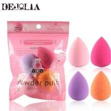 Women 4Pcs Makeup Sponge Puff Makeup Tool Beauty Egg Face Foundation Powder Cream Sponges Cosmetic Puff Powder Puff Beauty