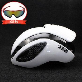 300g Aero TT Bike Helmet Road bike Cycling Bicycle Sports Safety Helmet Riding Mens Racing In-Mold Time-Trial Helmet 9
