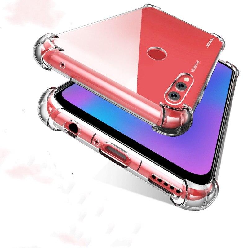 Coque de téléphone en silicone souple antichoc pour Huawei P20 P30 P40 Pro Plus P40 Lite 5G E honour 20 Lite 30 Pro 9S 9C 9X X10 étuis transparents